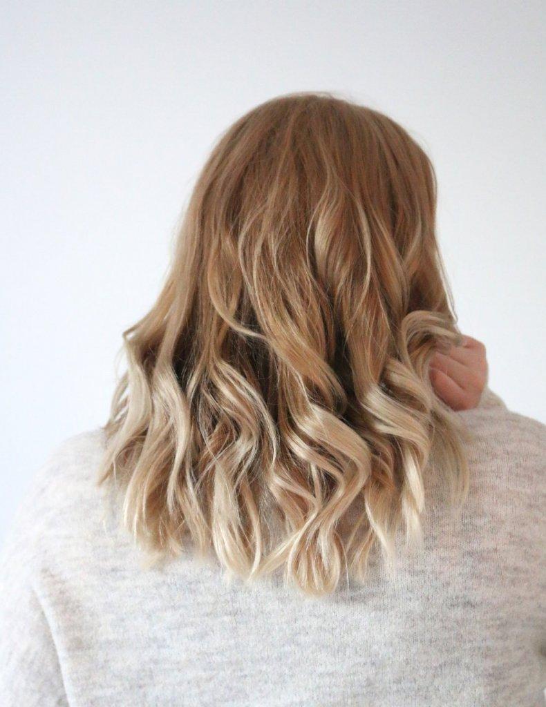 torr och irriterad hårbotten