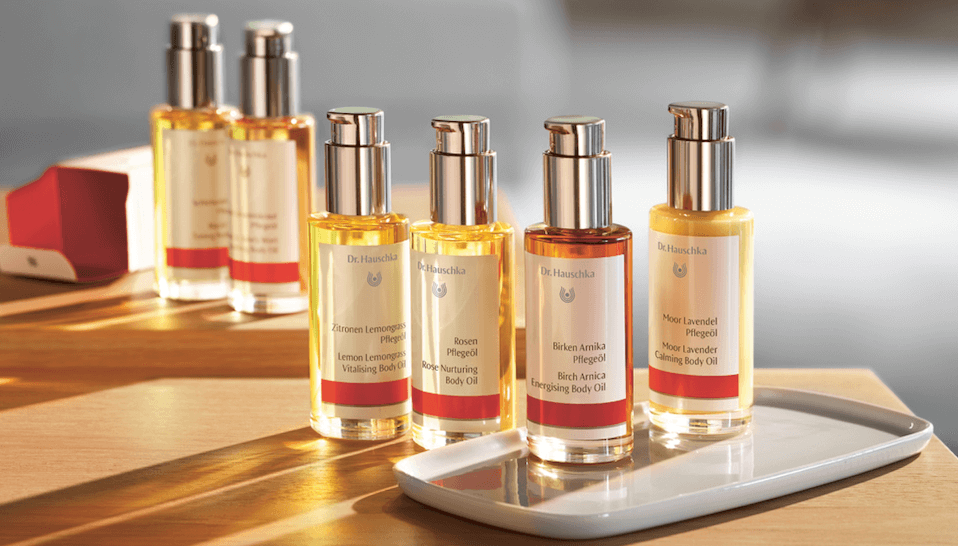 Dr Hauschka body oils