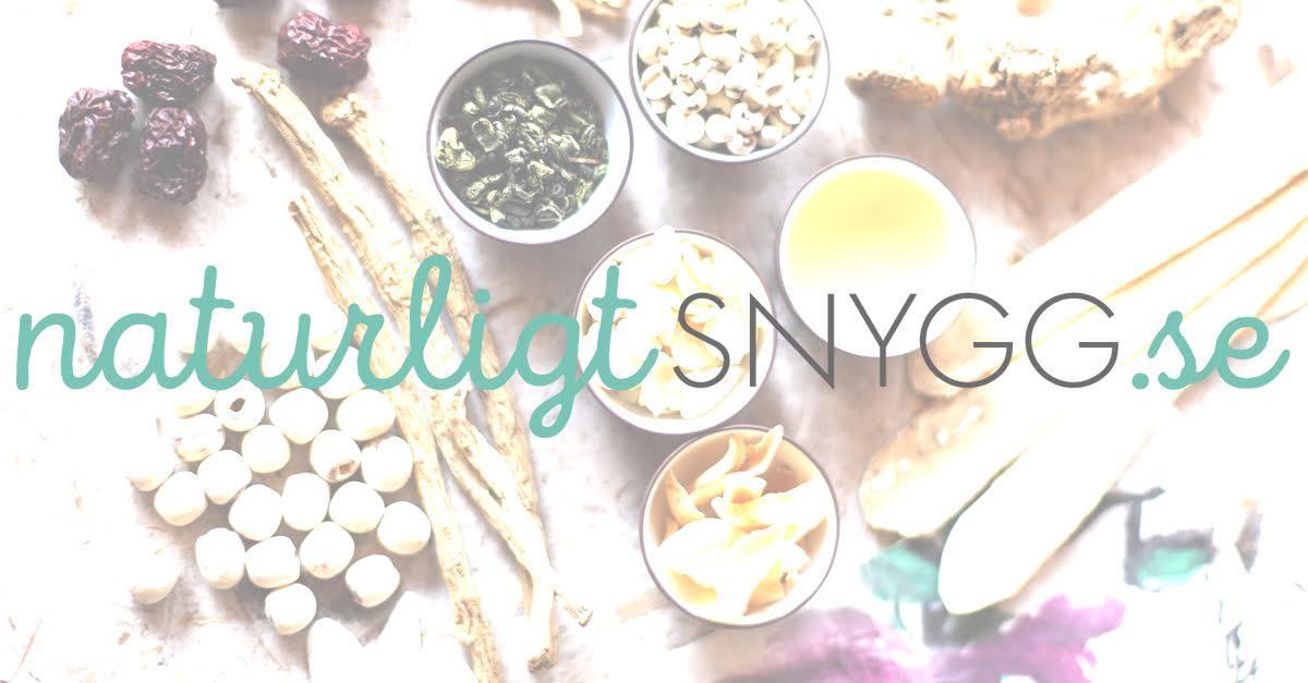 naturlig skönhet blogg