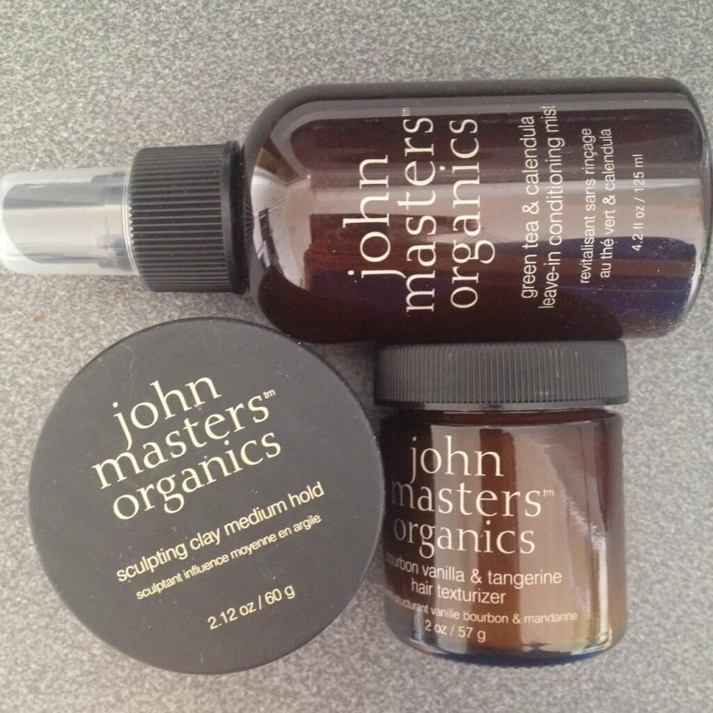 Ekologiska hårstylingprodukter från John Masters Organics