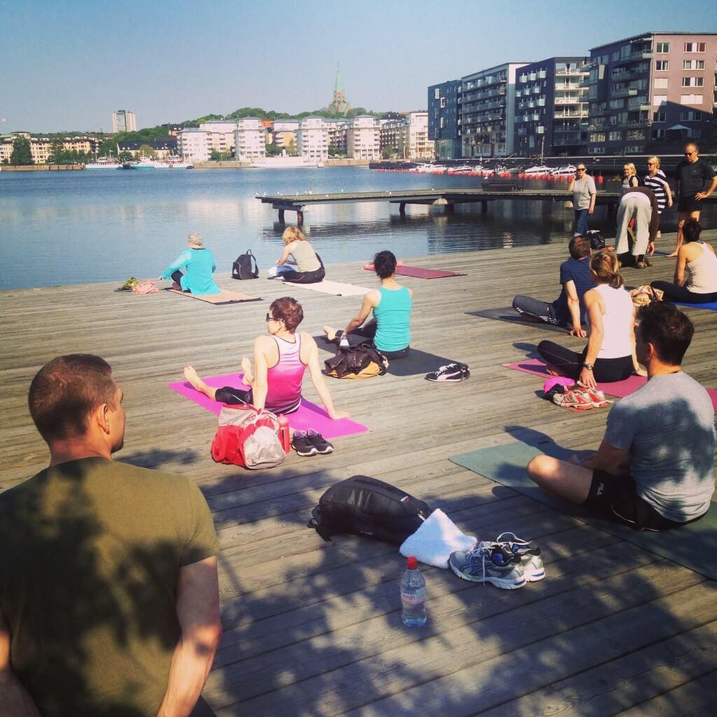 yoga hammarby sjöstad