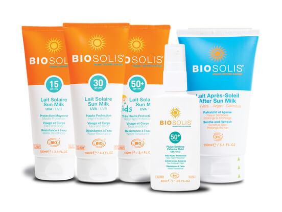 Biosolis solskydd