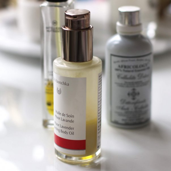 Dr Hauschka body oil