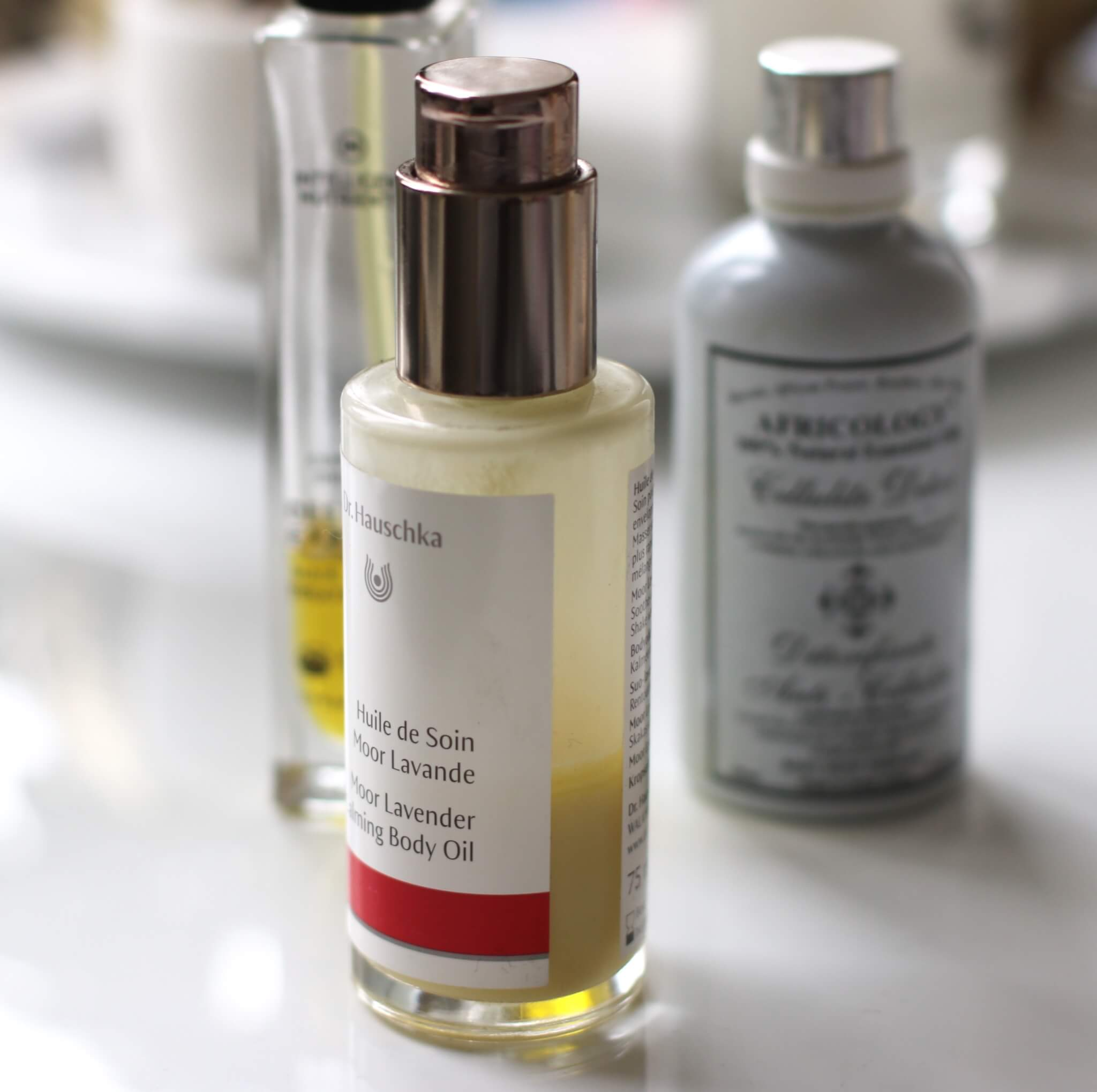 Dr Hauschka body oil