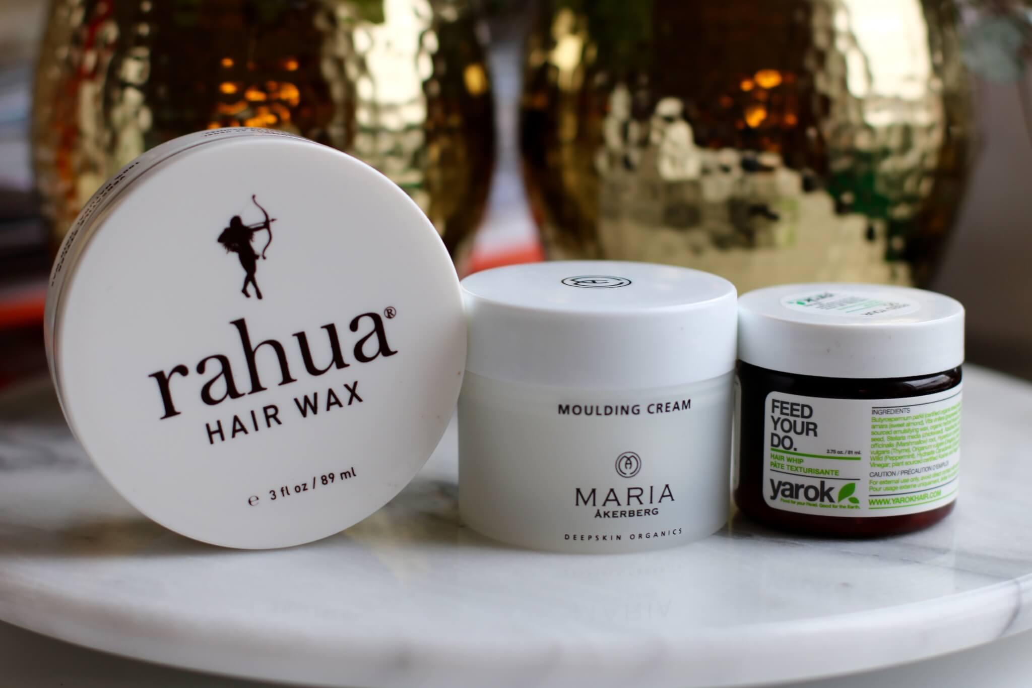 ekologiska hårvax