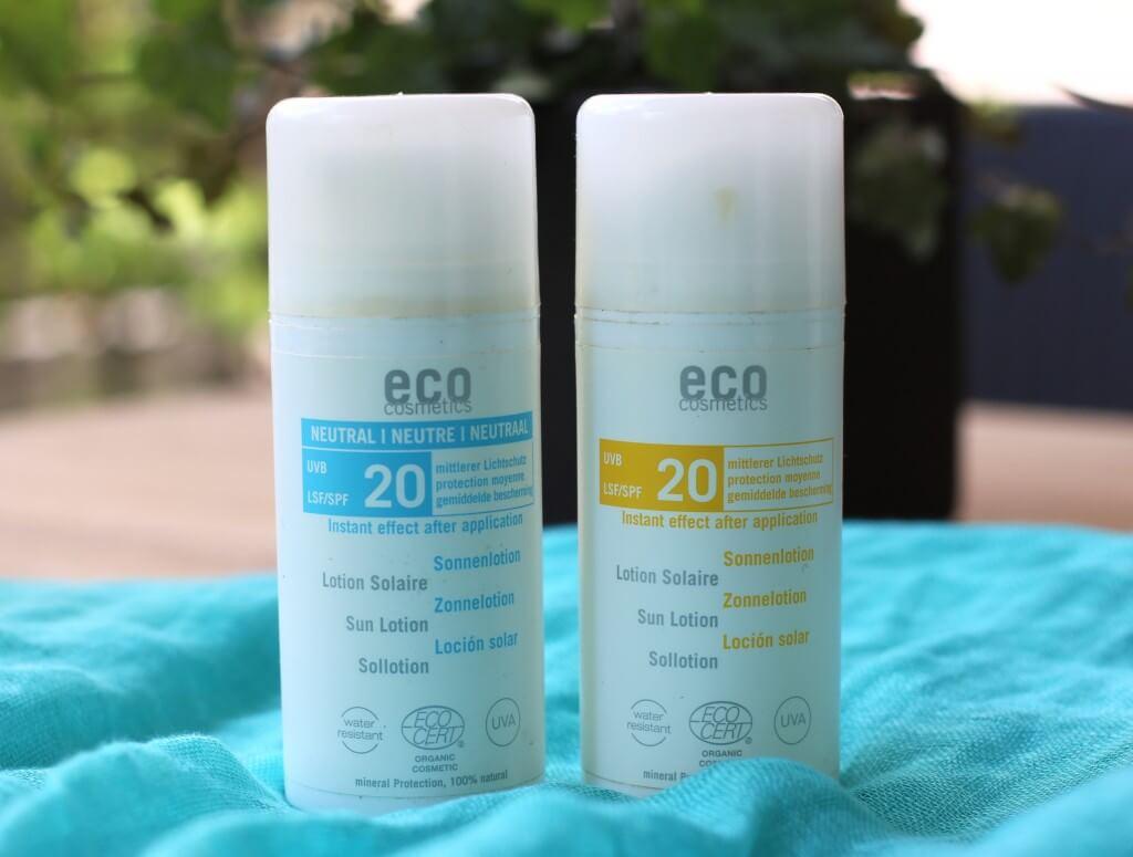ekologiskt solskydd Eco Cosmetics