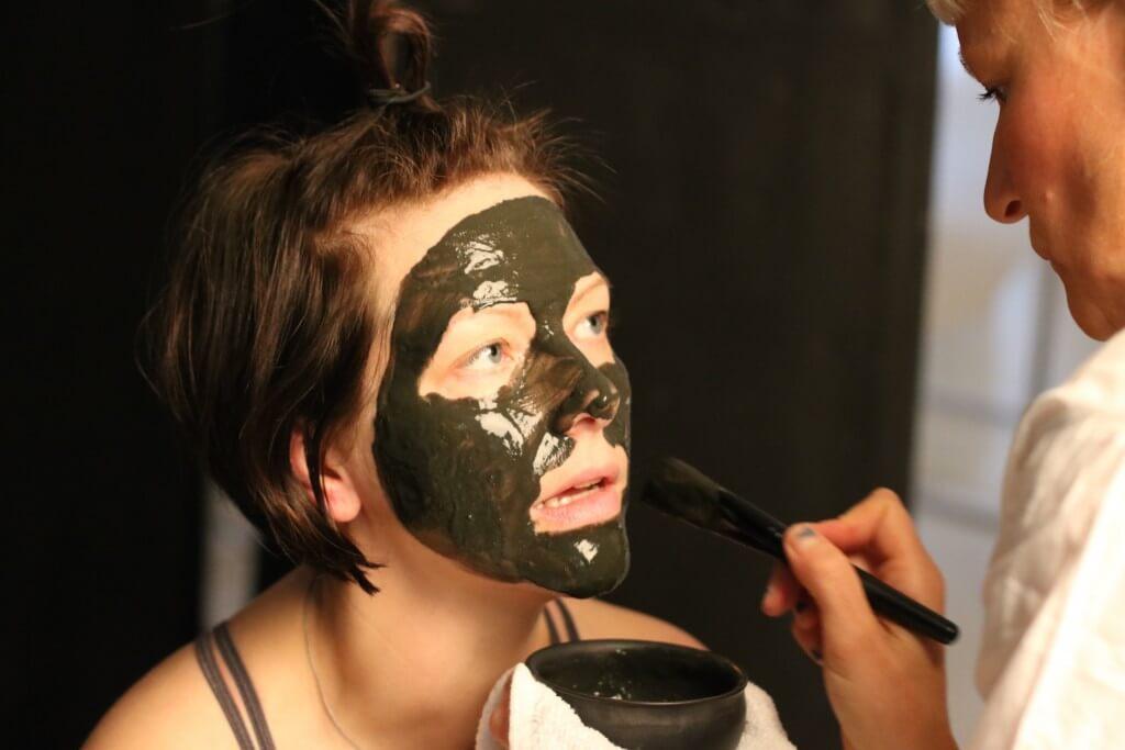 ekologisk ansiktsmask