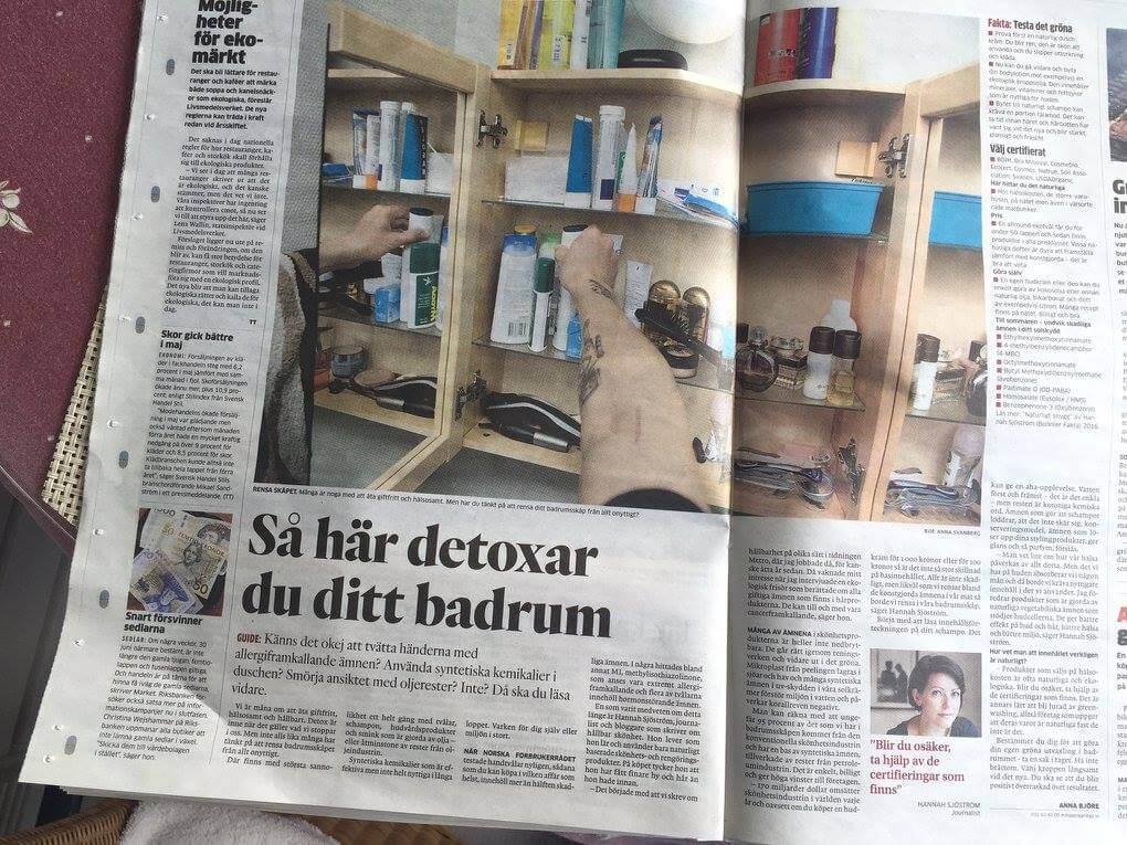 Hannah i Göteborgsposten