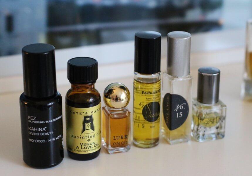 Hannah Sjöström   Hur skiljer sig ekologiska parfymer från