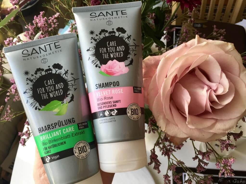 sante shampoo rose