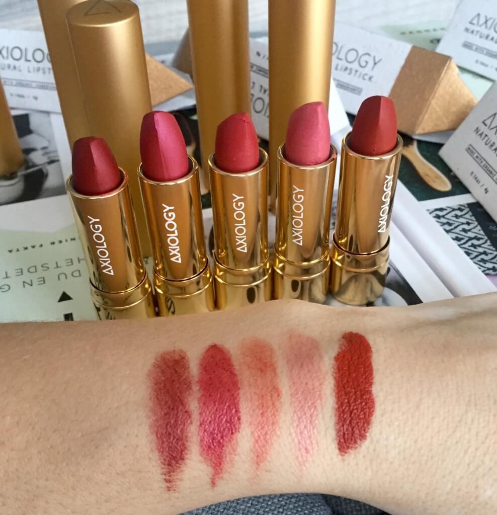 Axiology Lipsticks