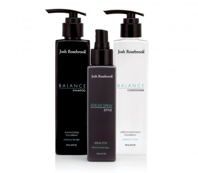 Josh Rosebrook hair care