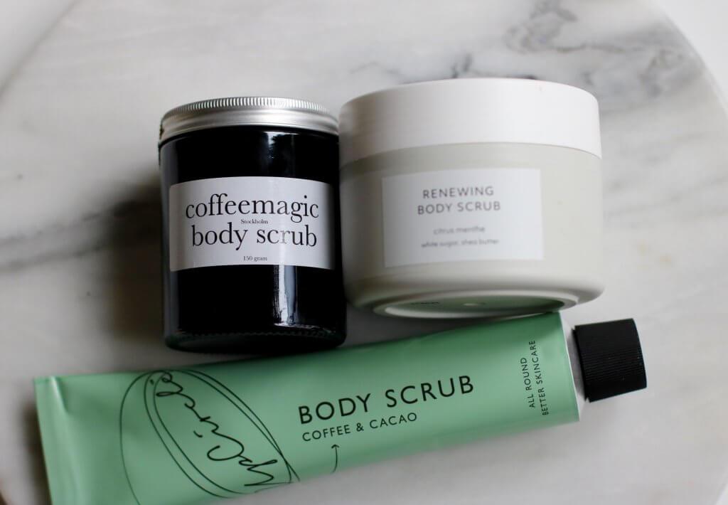 body scrub utan olja