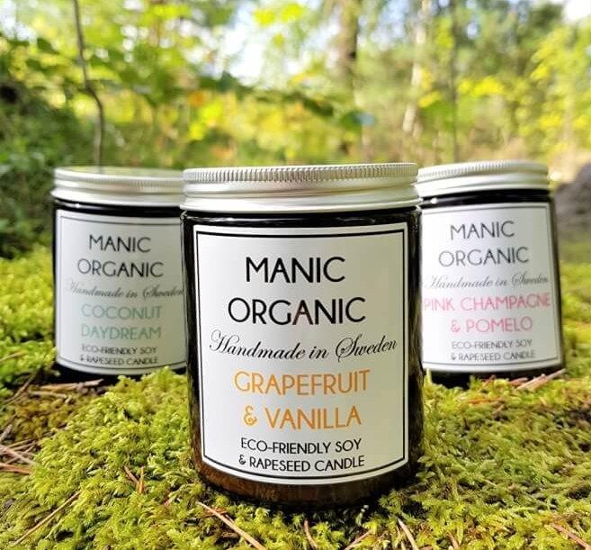 manic-organic doftljus