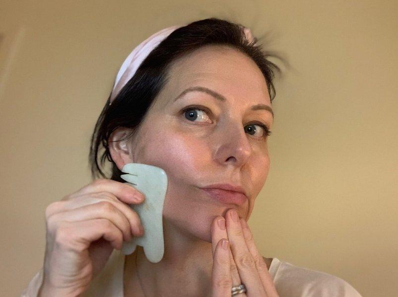 gua-sha-massage ansiktsbehandling