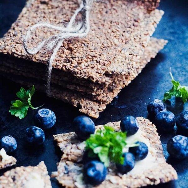 glutenfritt knäckebröd utan frön