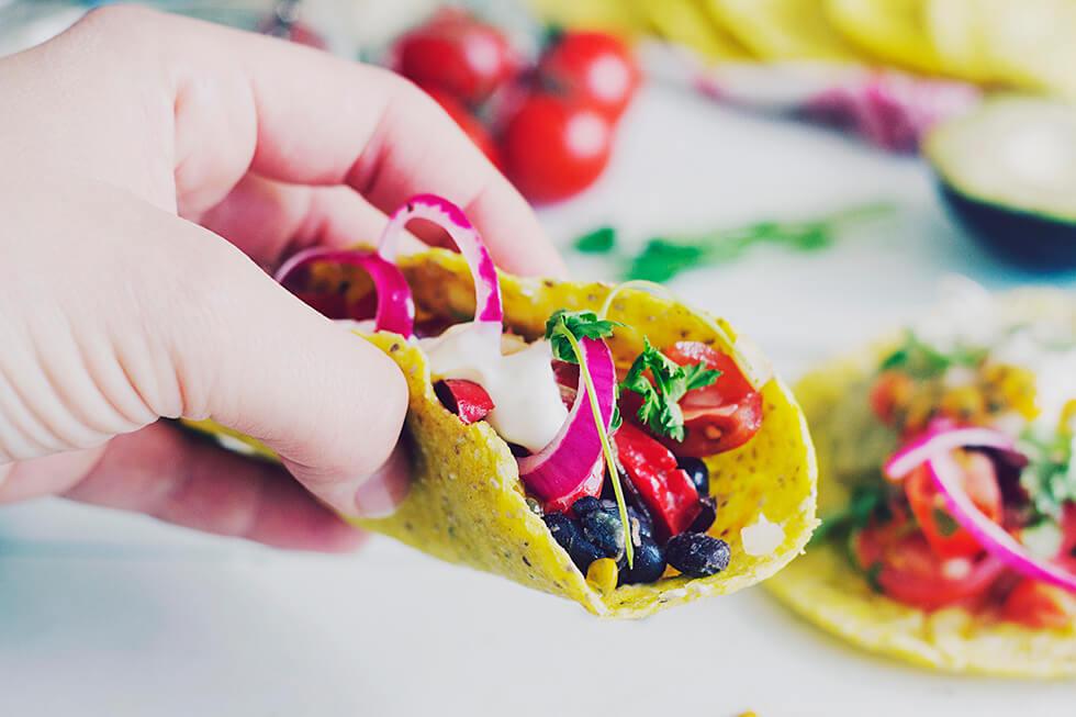 Mexikans tacos, glutenfri majstortilla + Mapiful