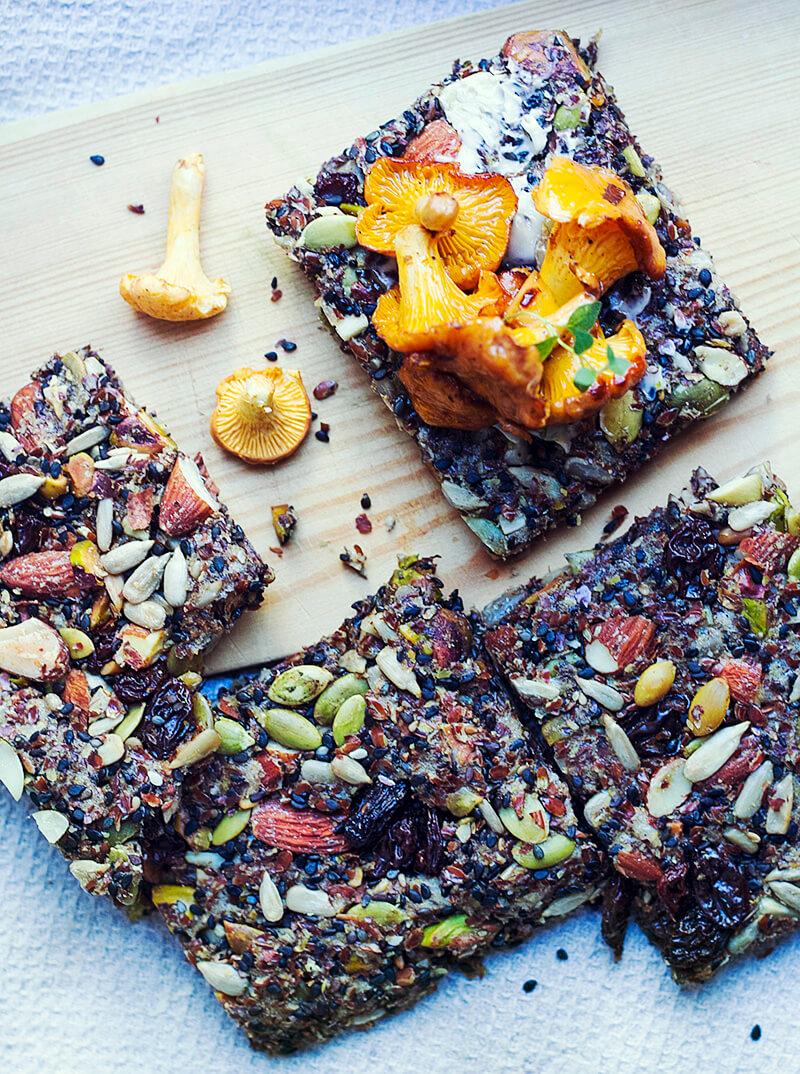 Fröbröd, veganskt och glutenfritt