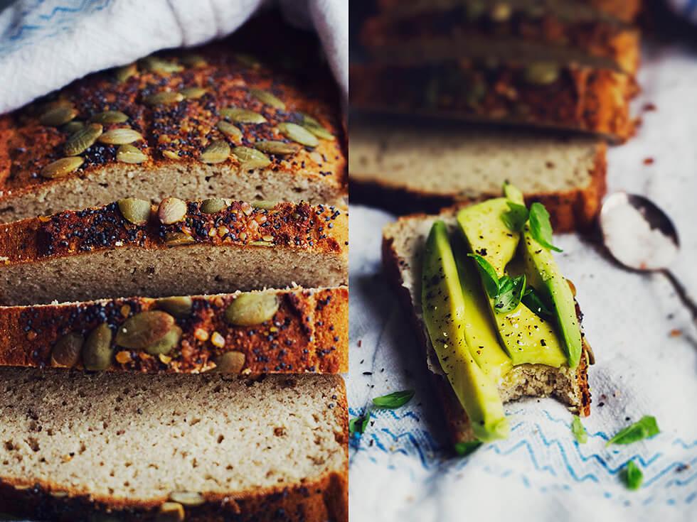baka bröd med bovetemjöl