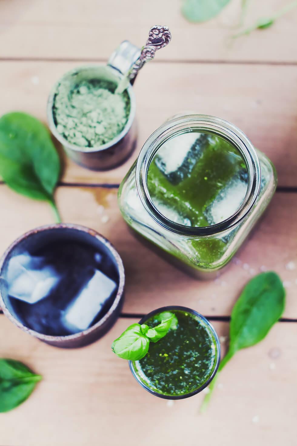 Hälsotips - Spirulina och Multi Greens - Morgonshot