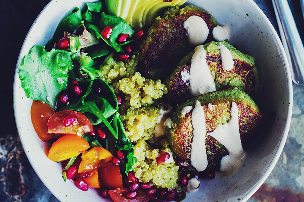 sås till vegetariska biffar