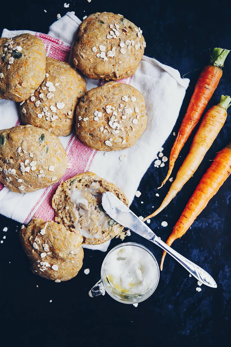 Morotsfrallor - glutenfria och veganska