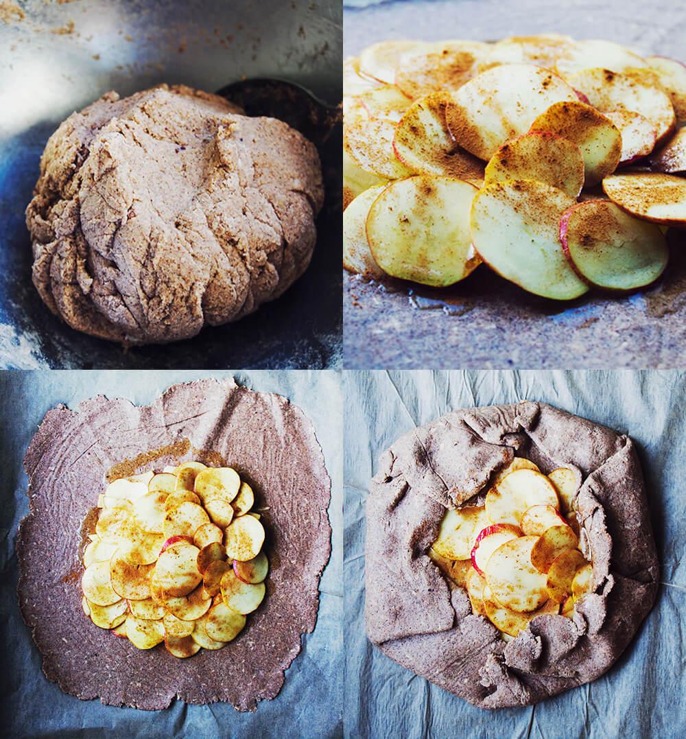 Ljuvlig mjuk och saftig äppelpaj, glutenfri och vegansk