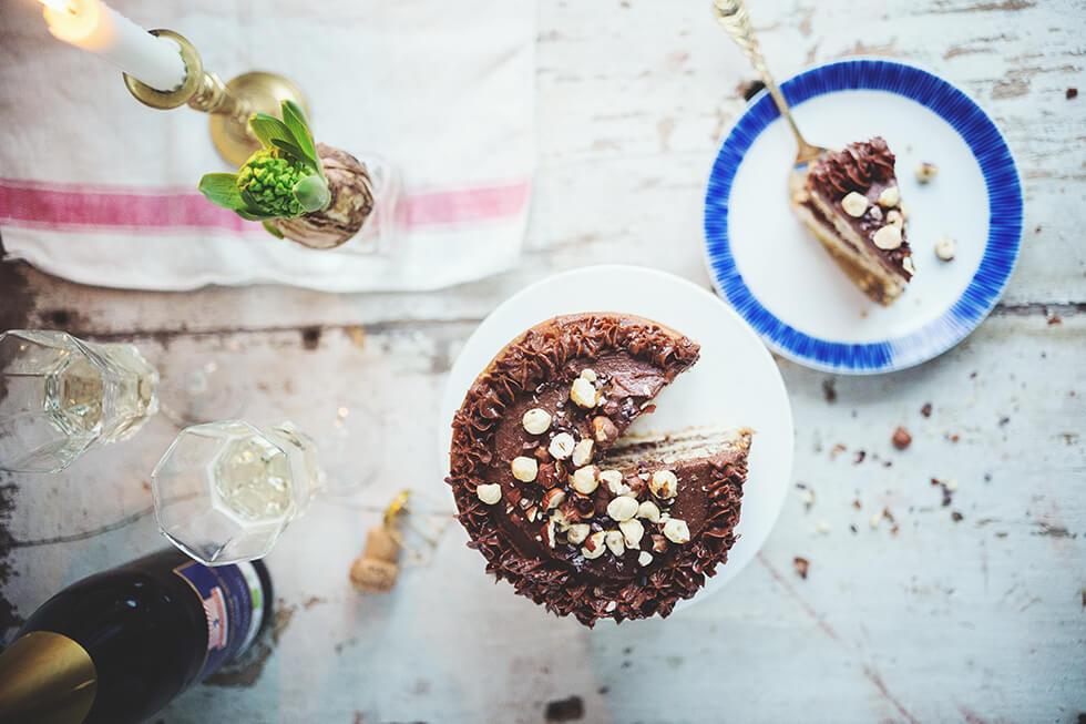 Kardemummakaka med chokladkräm - #framtidensjulbord