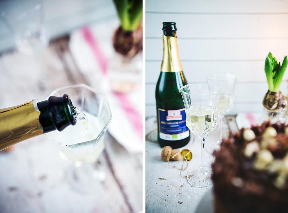 Kung Markatta mousserande alkoholfritt vitt vin