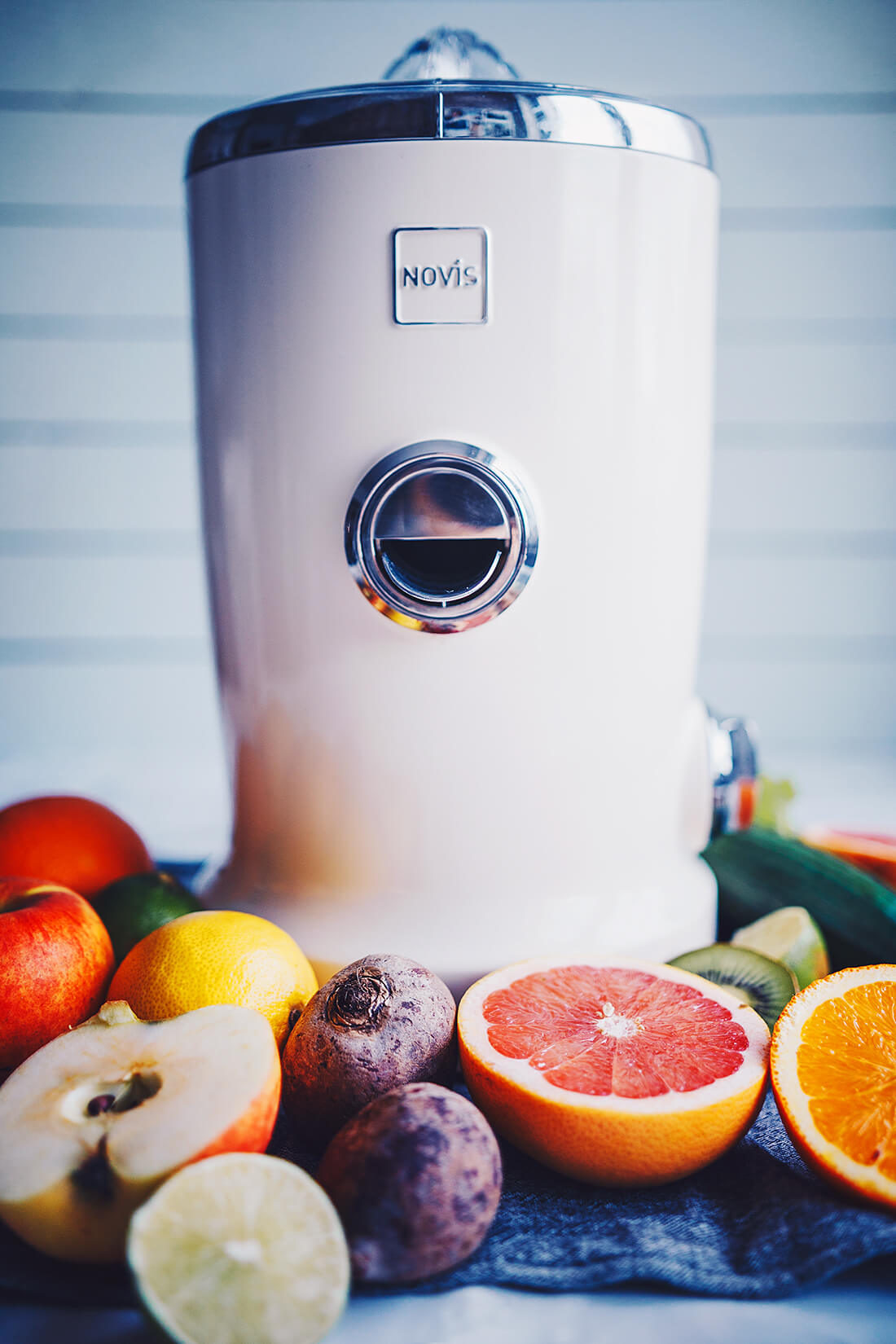 Novis Vita Juicer - recension, recept på hälsosamma juicer