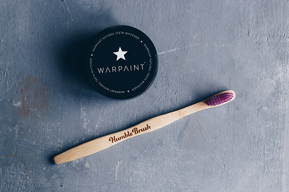 Recension naturlig tandblekning - Warpaint