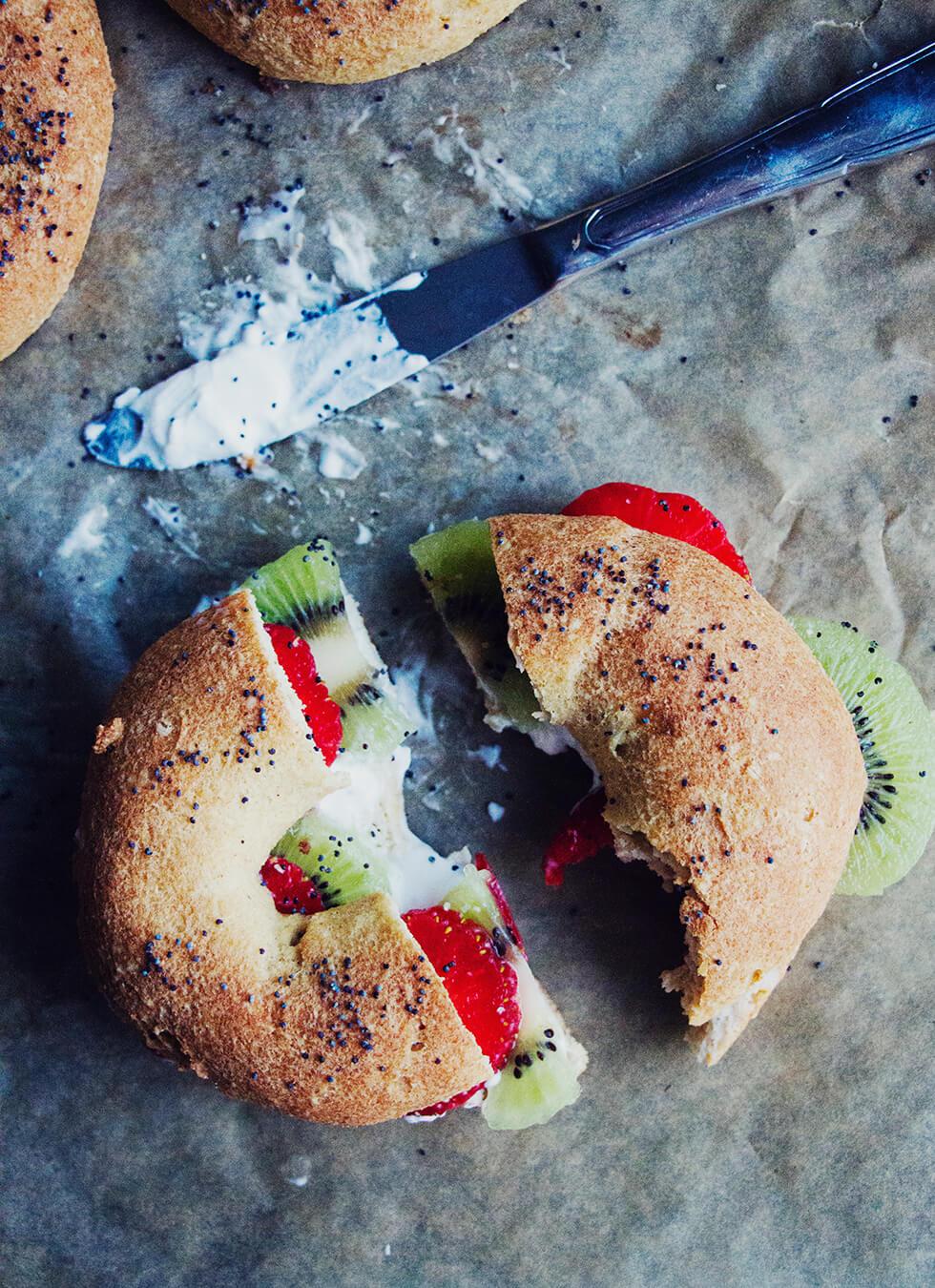 Glutenfria bagels