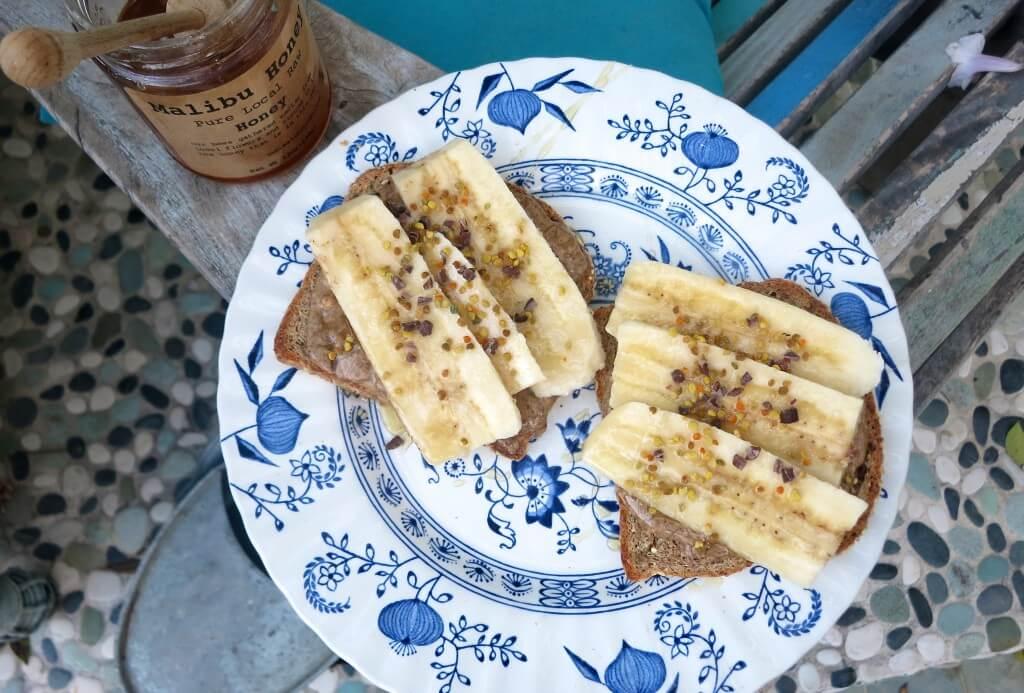 toast mandelsmör banan 2