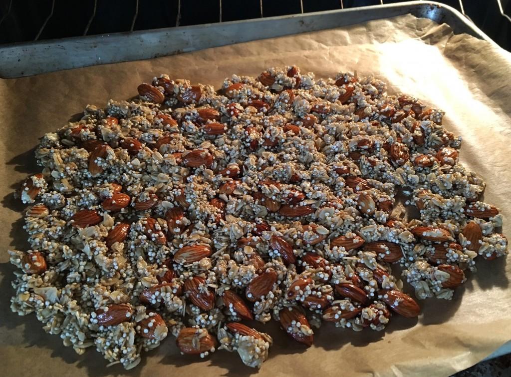 Quinoa granola med Ginjer Droppar 2