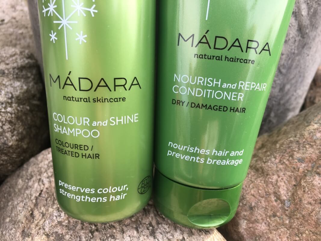 Madara shampo och balsam 1