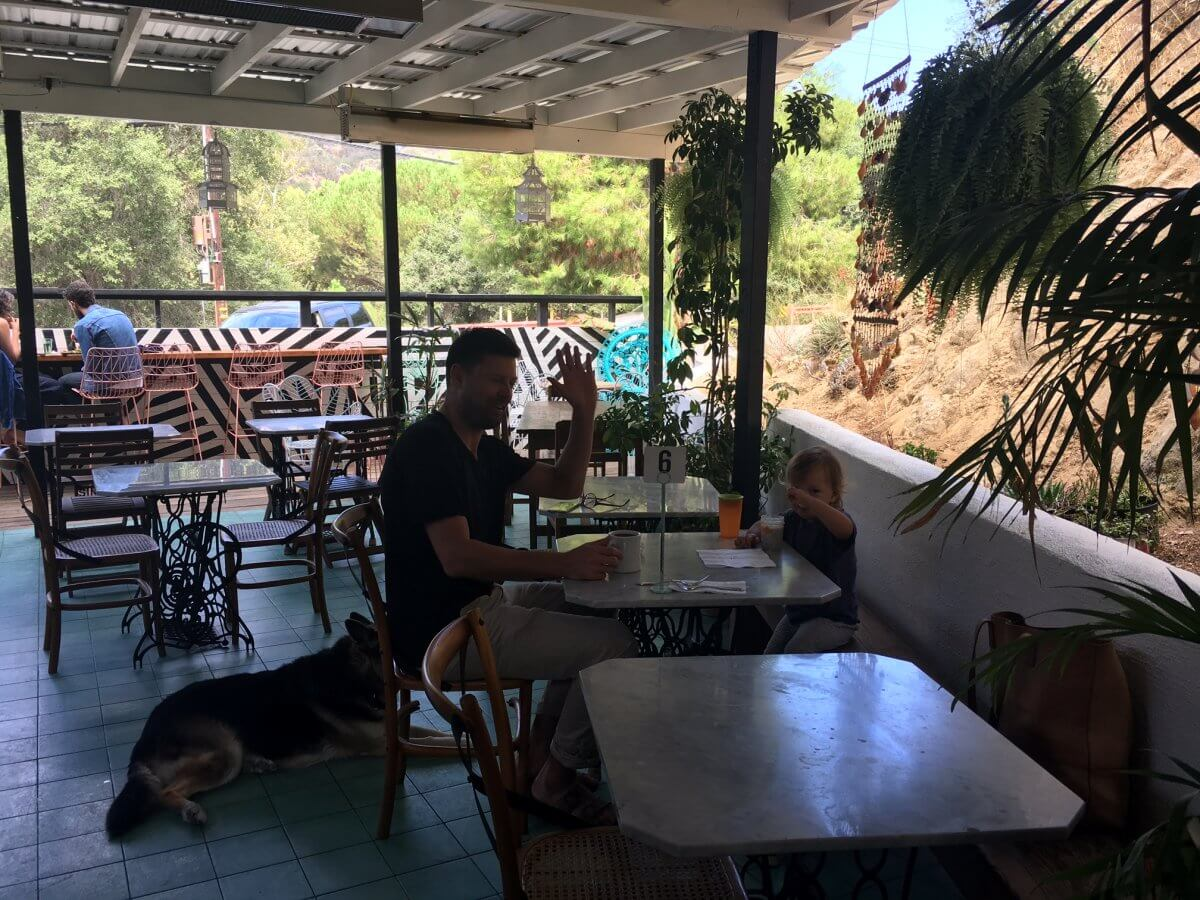 topanga canyon living cafe