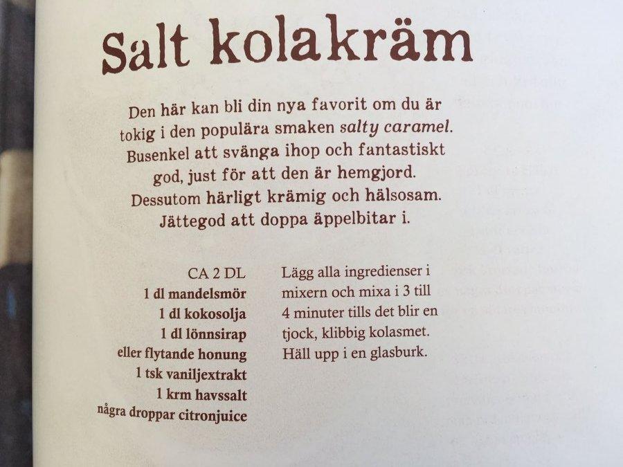 nyttigt julgodis Salt caramel superhälsa