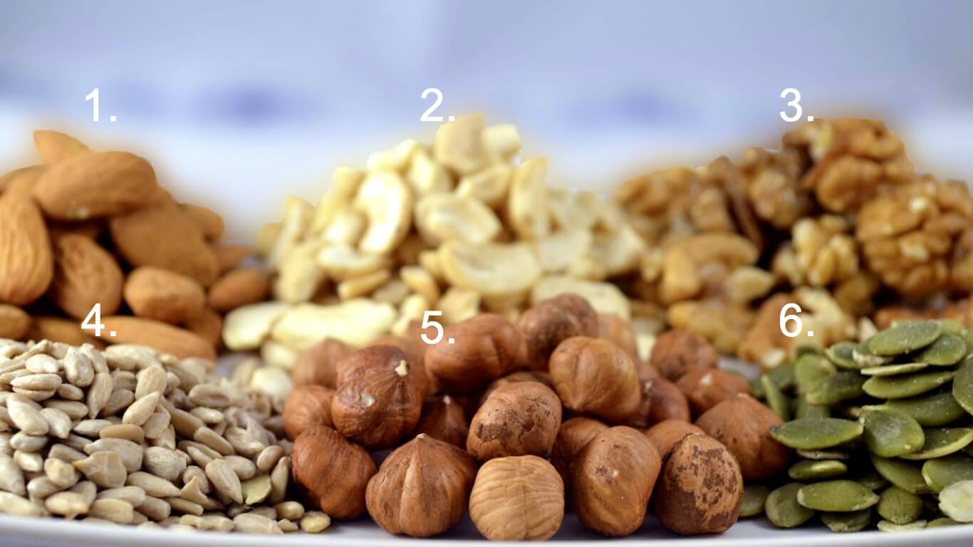 Blöttlägga nötter