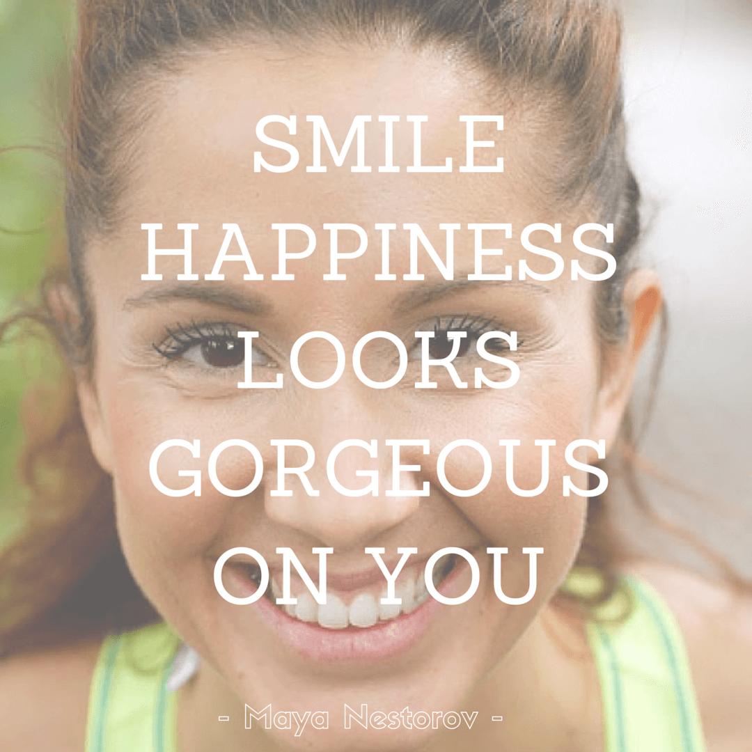 smilehappinesslooks gorgeouson you