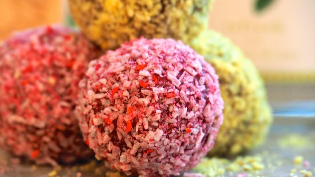 pinkrawfitbollar