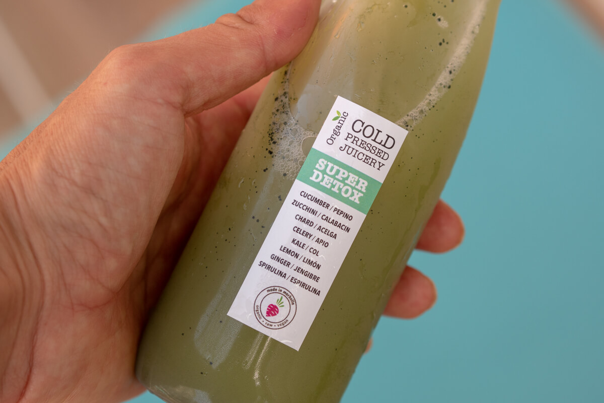 organic cold pressed juicery