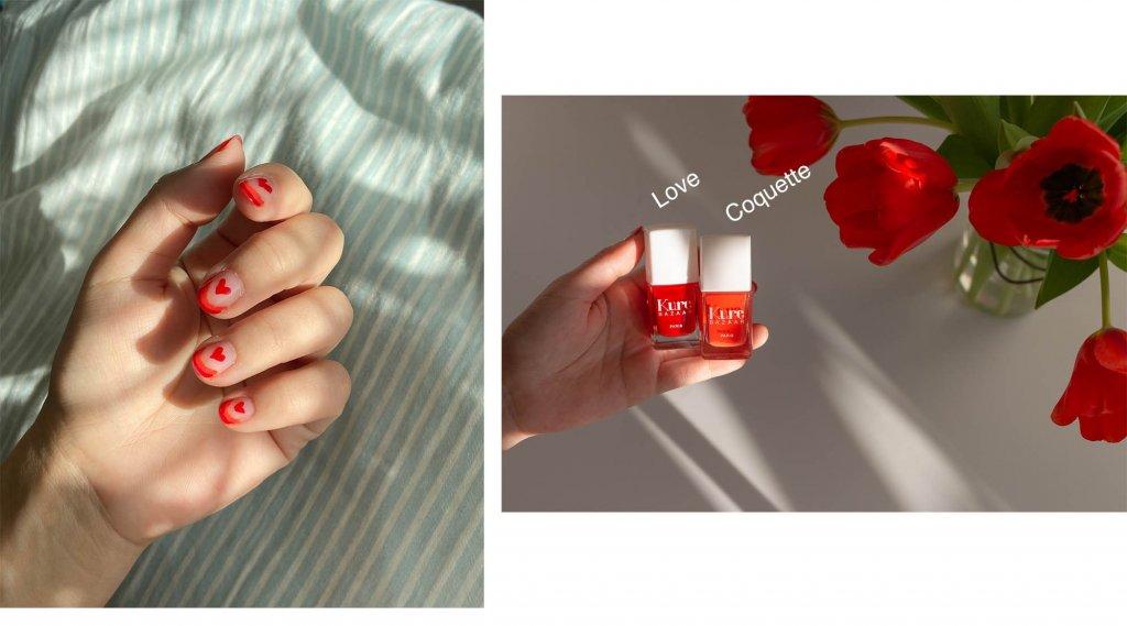 Enkel nail art för korta naglar