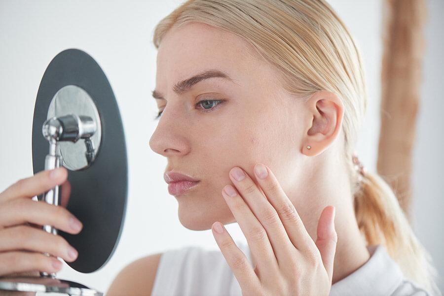 hudvård för blandhy