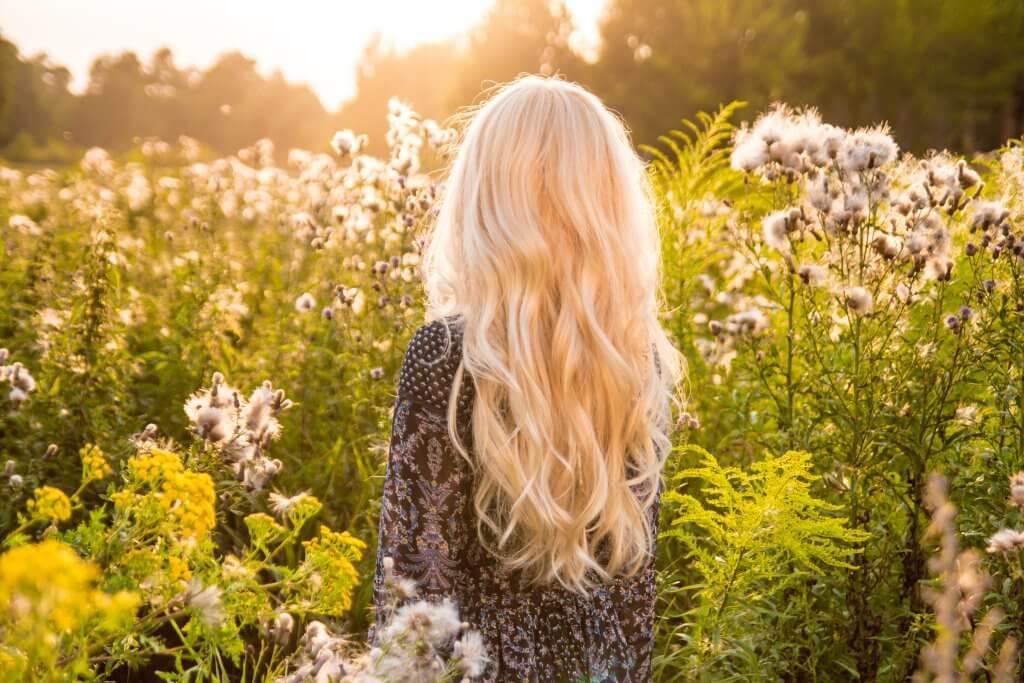 ljusa upp håret naturligt