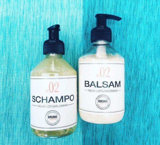 bra schampo för frissigt hår