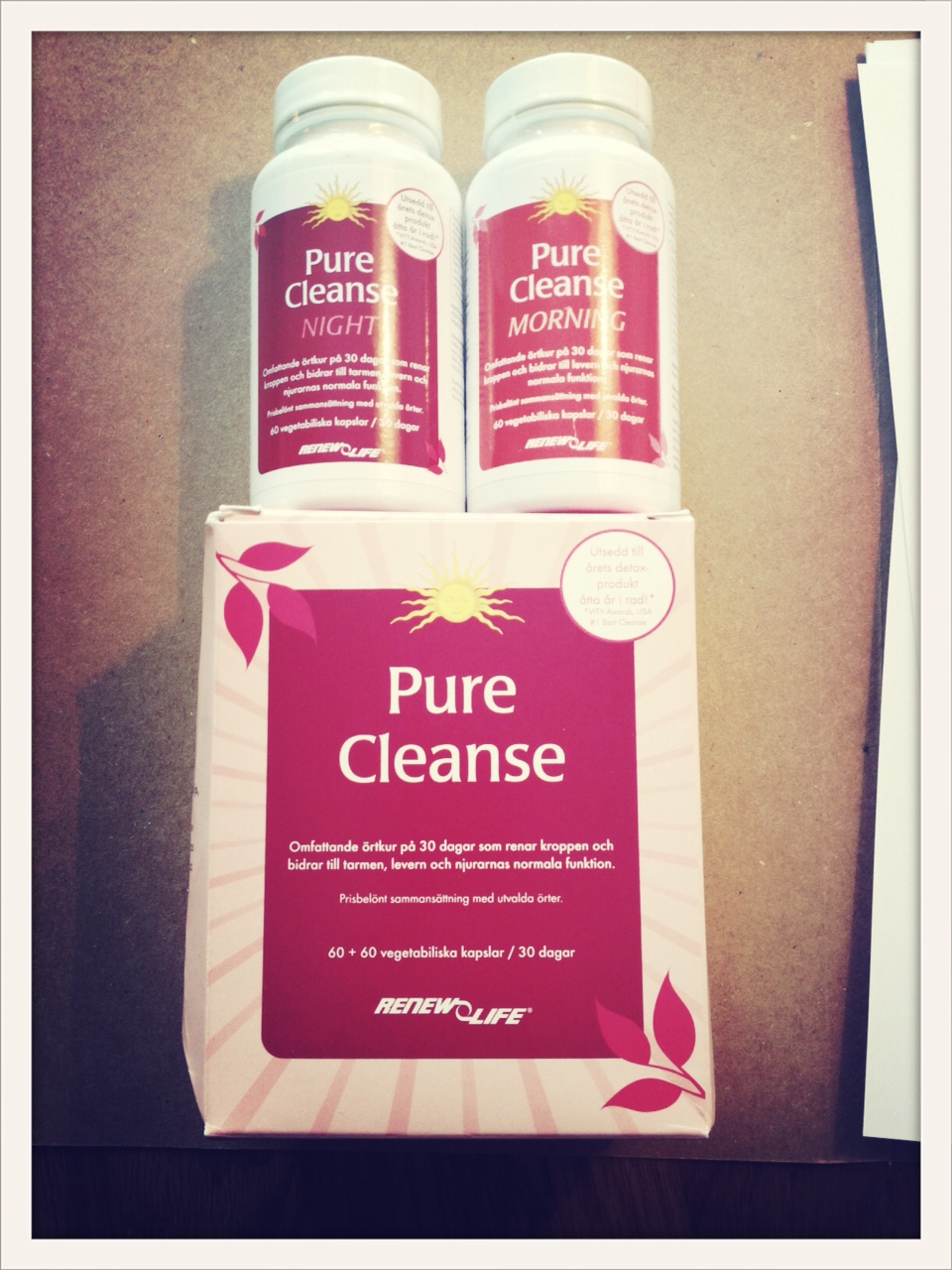 pure cleanse recension