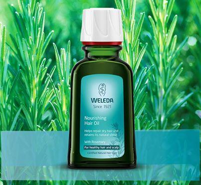 weleda hair oil