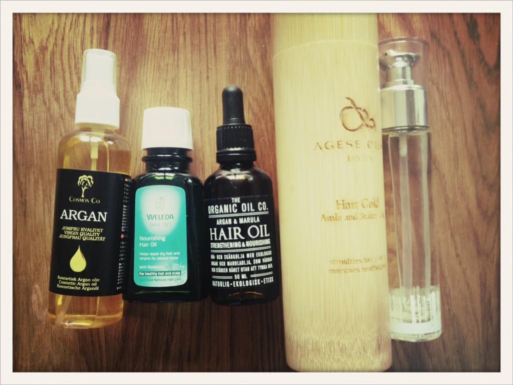 ekologisk hårolja
