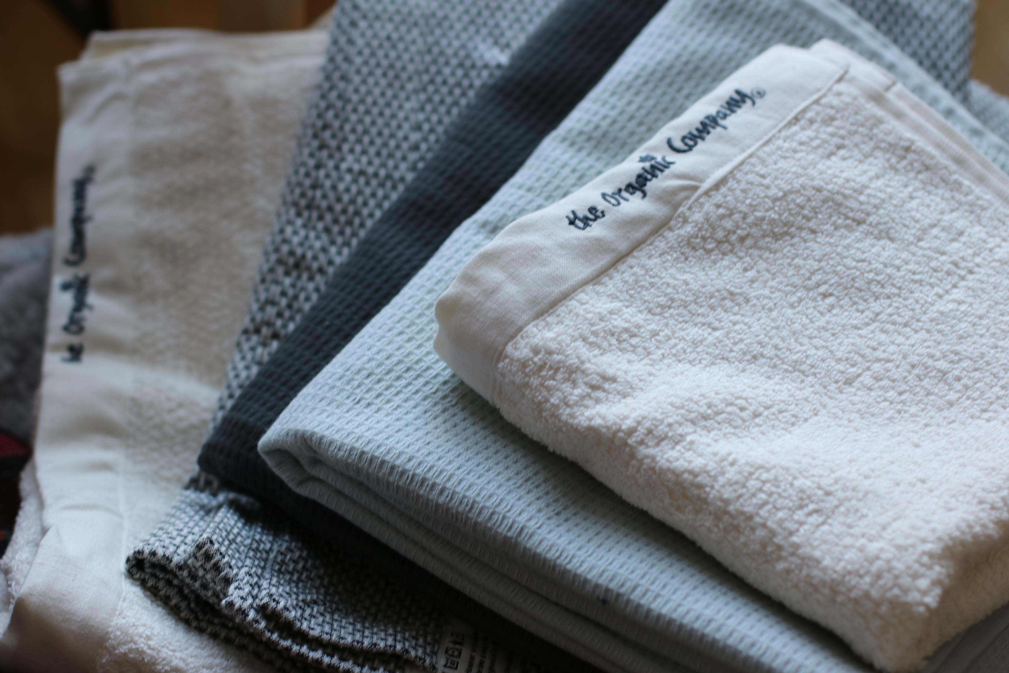 Ekologiska handdukar från The Organic Company 792b859cdbe09