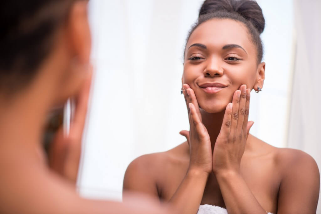 ansiktsvård